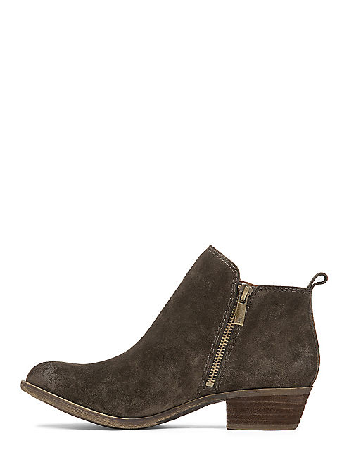BASEL FLAT BOOTIE, OLIVE
