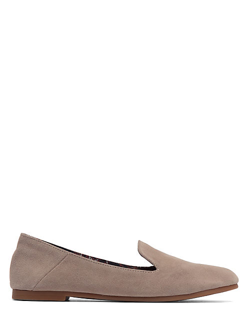 DANNAH SMOKING FLATS, LIGHT GREY