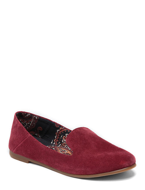 DANNAH SMOKING FLATS, LIGHT RED