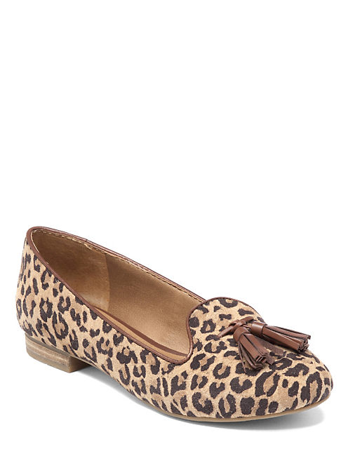 DOLCE SMOKING SLIPPERS, LEOPARD