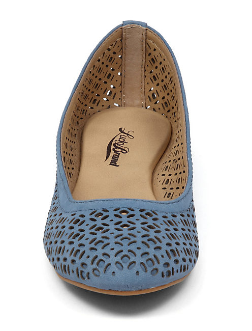 EASTLY FLAT, OPEN BLUE/TURQUOISE