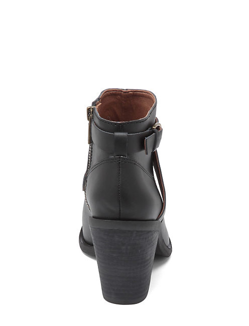 ELOY BUCKLE BOOTIES, BLACK