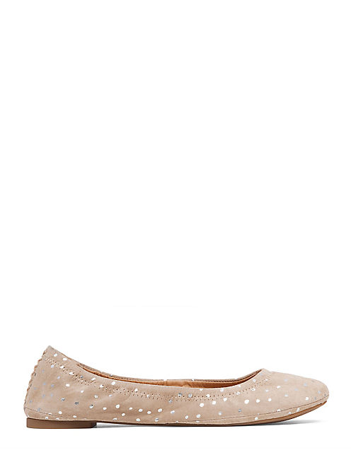 EMMIE FLATS, LIGHT GRAVEL / SILVER
