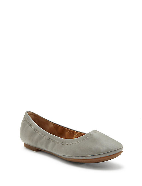 EMMIE FLATS, SHADOW SUEDE
