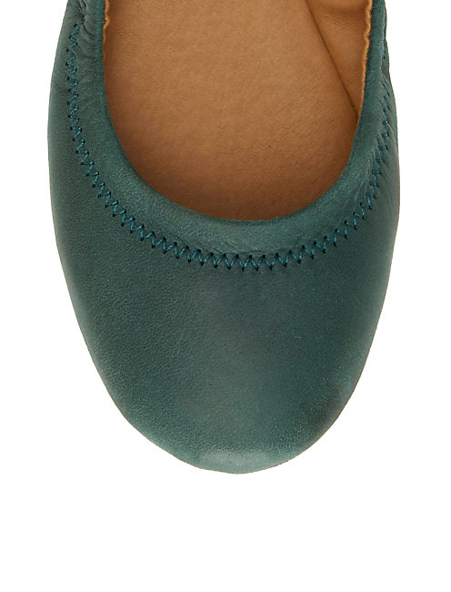 EMMIE FLATS, MEDIUM GREEN