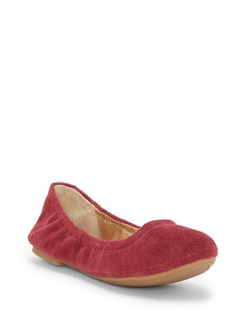 EMMIE FLATS, OVERFLOW RED
