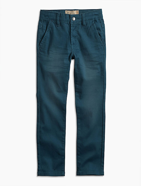 UPTOWN SLIM FIT, OPEN BLUE/TURQUOISE