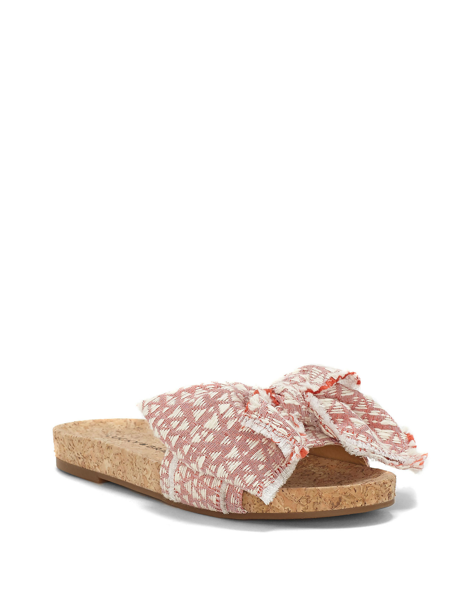 Floella Denim Slide Sandals CzeCXy