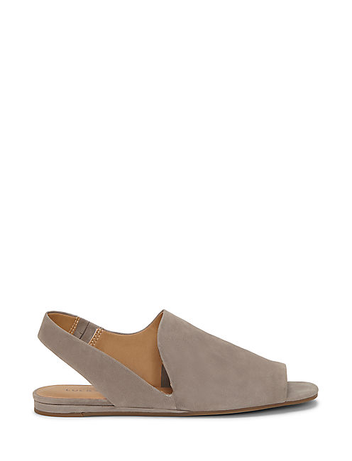 GEORGETA FLAT, LIGHT GREY