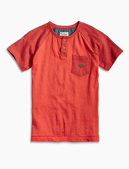 POTTERY HENLEY, OPEN RED