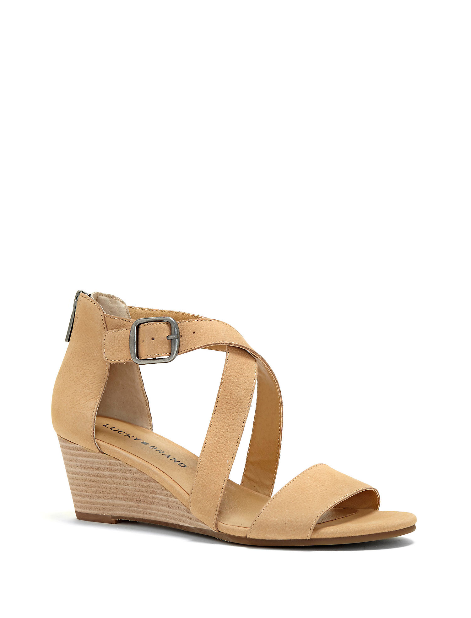Lucky Brand Jenley Wedge Sandal (Women's) Ib83r1HhI