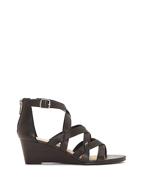 JEWELIA WEDGE, BLACK