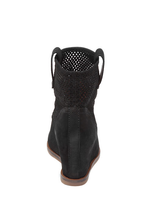 KENO WEDGE BOOTIES, BLACK