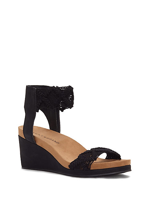 KIERLO WEDGE, BLACK