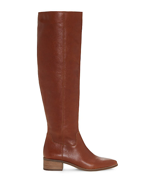 KITRIE BOOT, OPEN BROWN/RUST