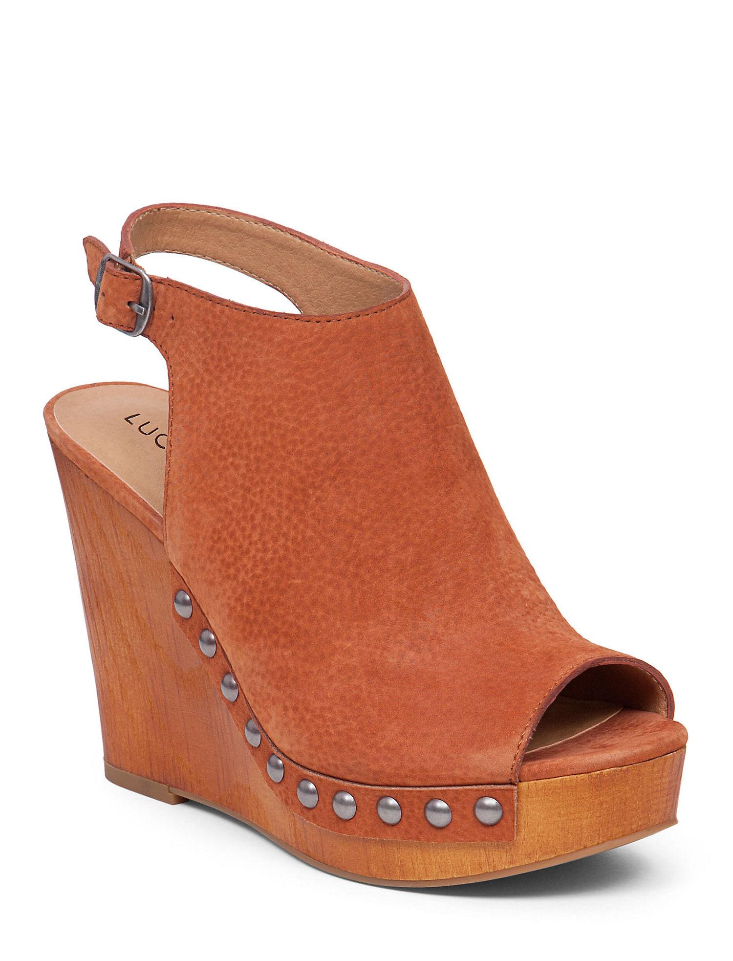 Womens Lucky Women's LARAE Wedge Sandal Offer Size 38
