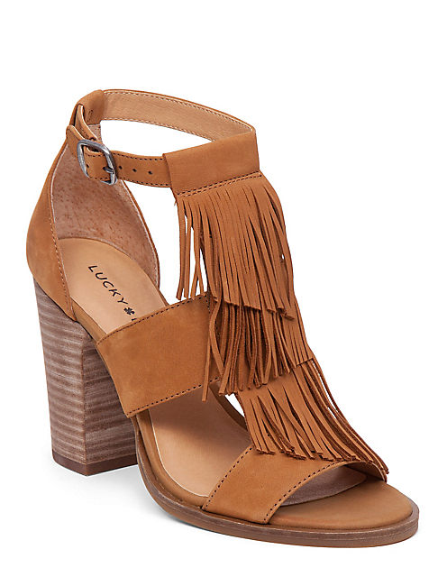 Sale Women Lucky Brand Leesha Heels QTWJr42T