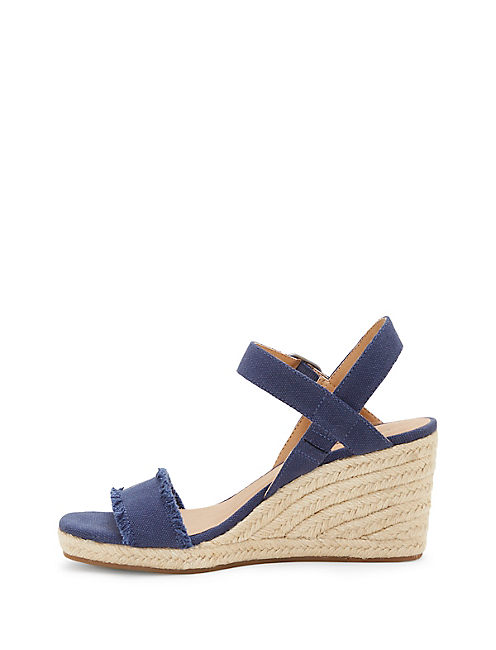 MARCELINE WEDGE, DARK BLUE