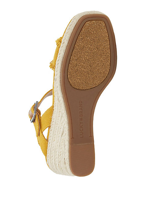 MARCELINE WEDGE, DARK YELLOW