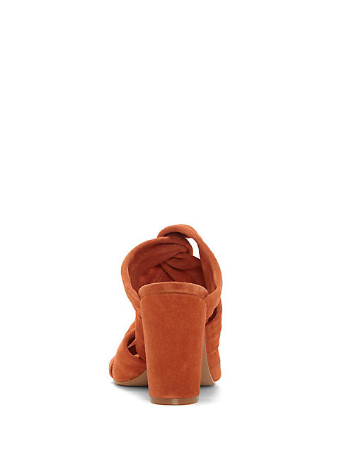 MARCILE HEEL, RUST ORANGE