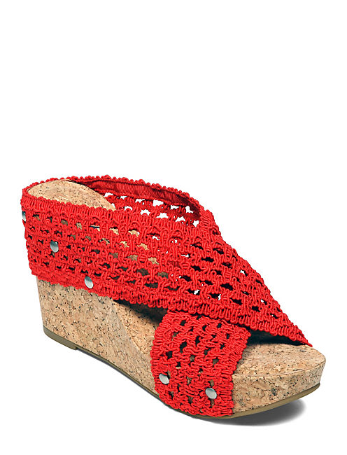 MILLER WEDGES, OPEN RED