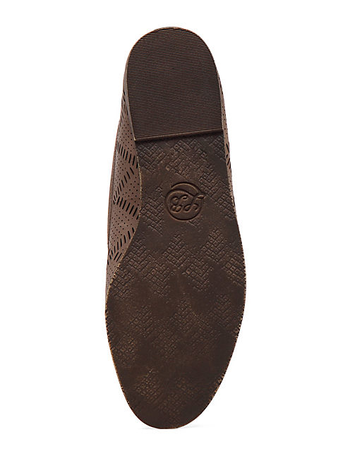 PARKERR PERFORATED LOAFER, BRINDLE