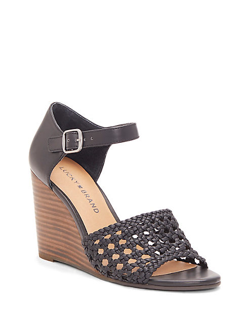 REBEKKA WEDGE, BLACK