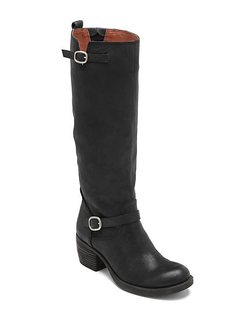 ROLLIE BOOTS, BLACK
