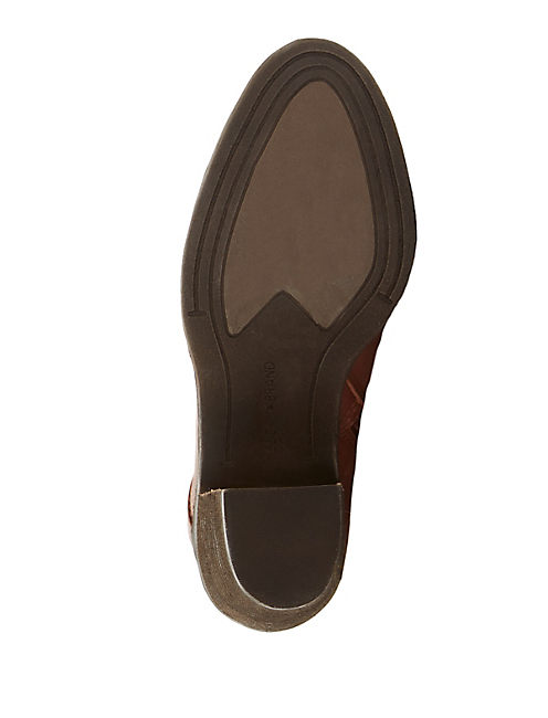 SALZA BOOTIE, LIGHT BROWN