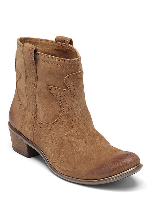 TERRA WESTERN BOOTIES, MEDIUM DARK BROWN