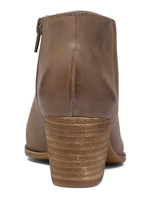 TOLACHE BOOTIE, BRINDLE LEATHER