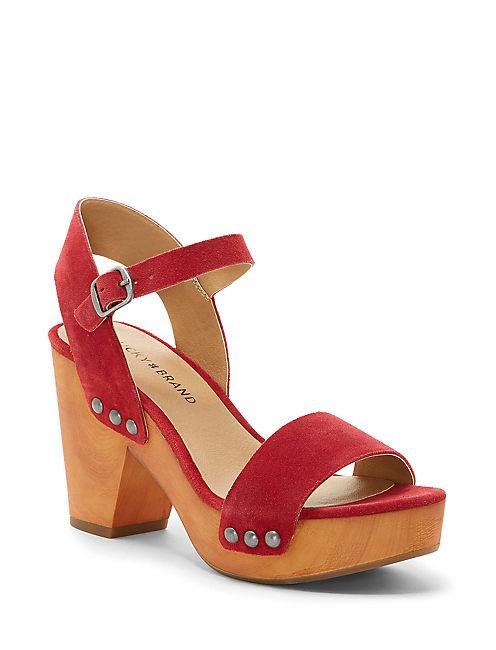 TRISA HEEL, LIGHT RED