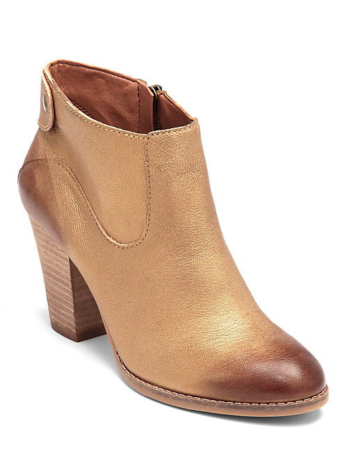 UBIZA BOOTIES, MENIUM DARK YELLOW