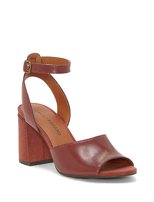 VERLENA HEEL, OPEN RED