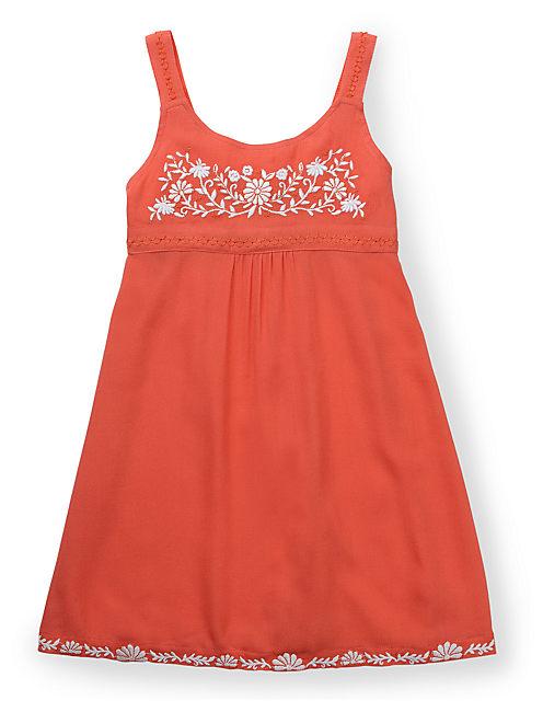 MEXI DRESS, BRIGHT ORANGE