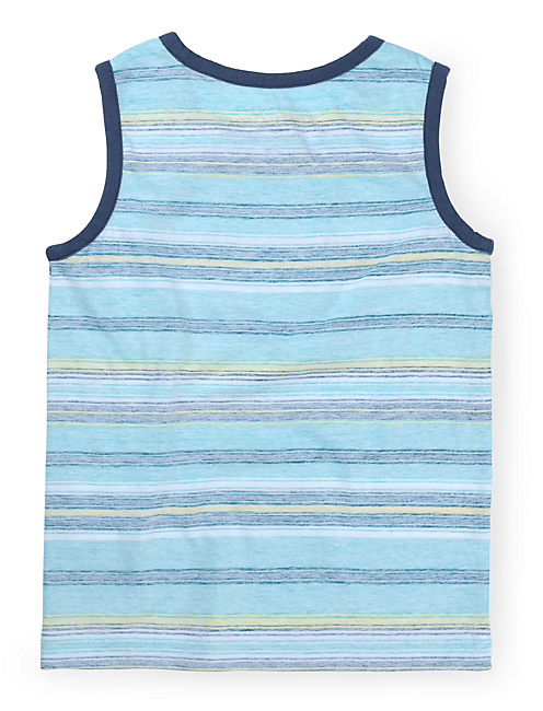 LAGUNA TANK, BRIGHT BLUE