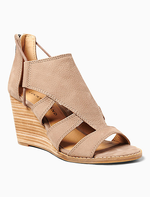 JOELLEN WEDGE, MEDIUM BEIGE