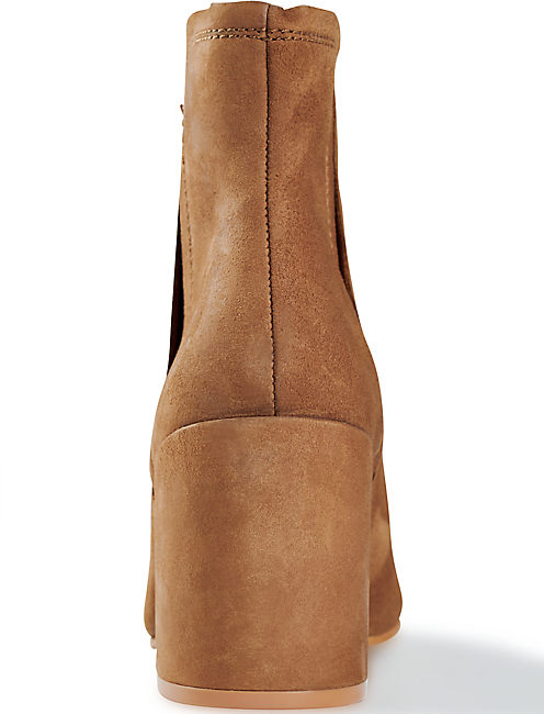 RUBEE BOOTIE, OPEN BROWN/RUST