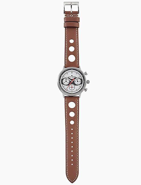 Lucky Fairfax Racing Perforated Watch, 40mm