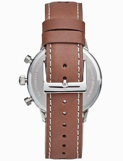 FAIRFAX RACING PERFORATED WATCH, 40MM,
