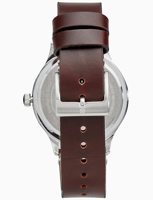 HIGHLAND MULTI-FUNCTION WHITE WATCH, 38MM,