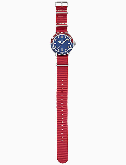 DILLON SPORT RED WATCH, 42MM,