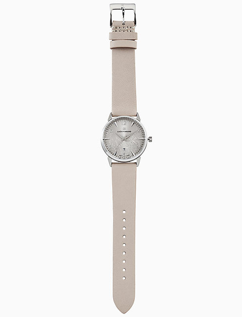 TORREY BLUSH LEATHER WATCH, 34MM,