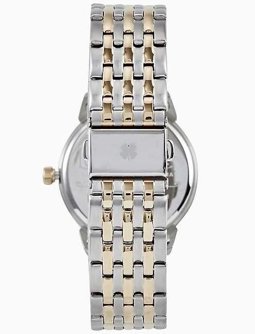 TORREY TWO TONE BRACELET WATCH, 34MM,