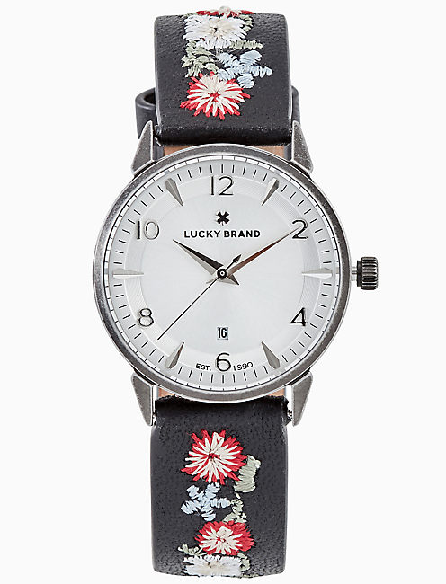 TORREY MULTI-EMBROIDERED WATCH, 34MM,