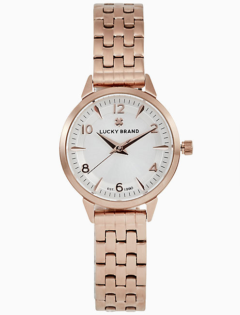 TORREY MINI ROSE GOLD BRACELET WATCH, 28MM,