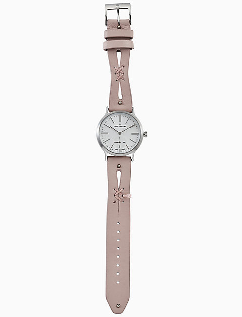 Lucky Ventana Pink Cut Out Watch, 34mm