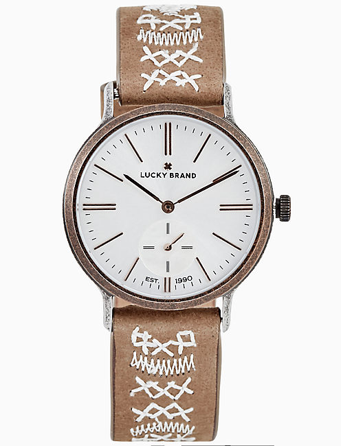 VENTANA TONAL EMBROIDERY WATCH, 34MM,