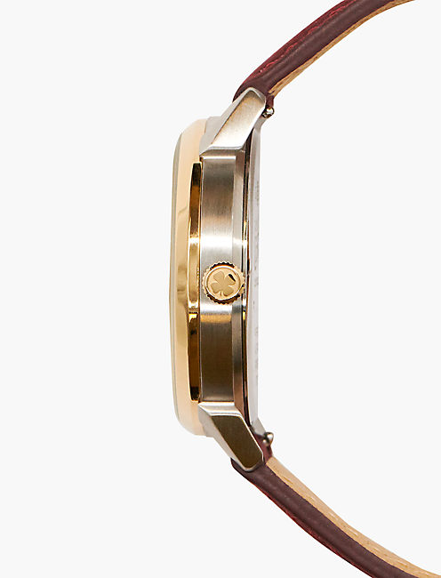 Torrey Berry Suede Leather Watch,