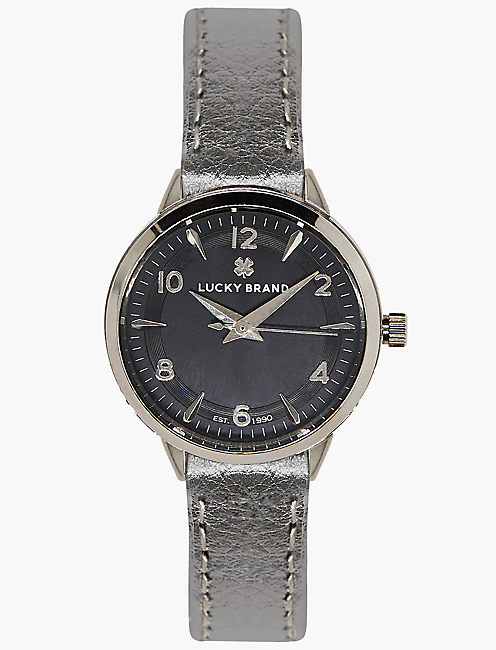 Torrey Silver Metallic Watch,